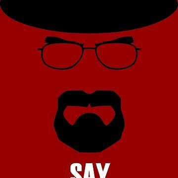 Walter White Heisenberg by LuisCaceres