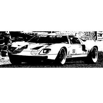 Ford GT40 by Holneub