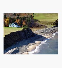 A Home By The Sea Photographic Print