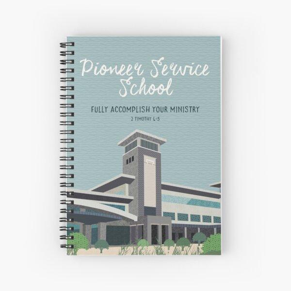 École de service Pioneer (Warwick) Cahier à spirale