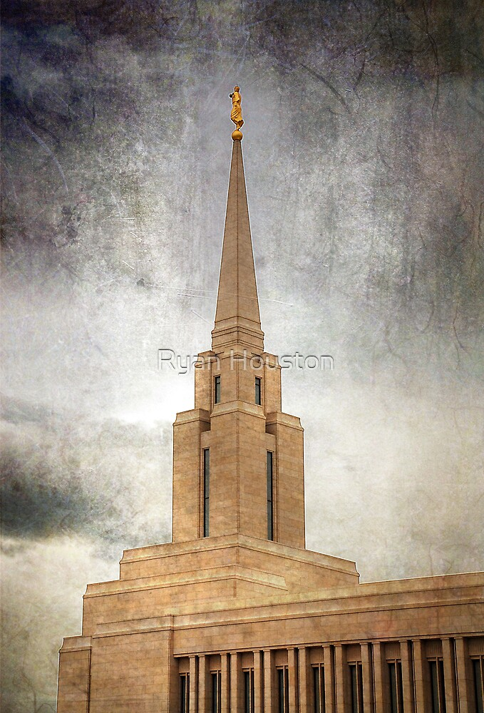 Oquirrh Mountain LDS Temple by Ryan Houston