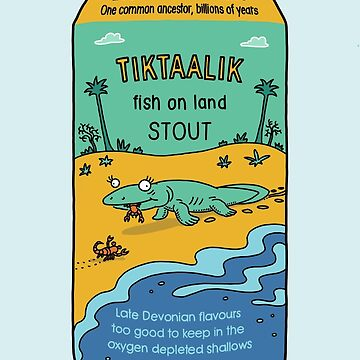 Evolution Brewing Tiktaalik Fish on Land Stout by morden