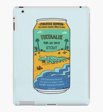Evolution Brewing Tiktaalik Fish on Land Stout iPad Case/Skin