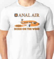 Fly ANAL AIR to Quahog International Airport. Unisex T-Shirt