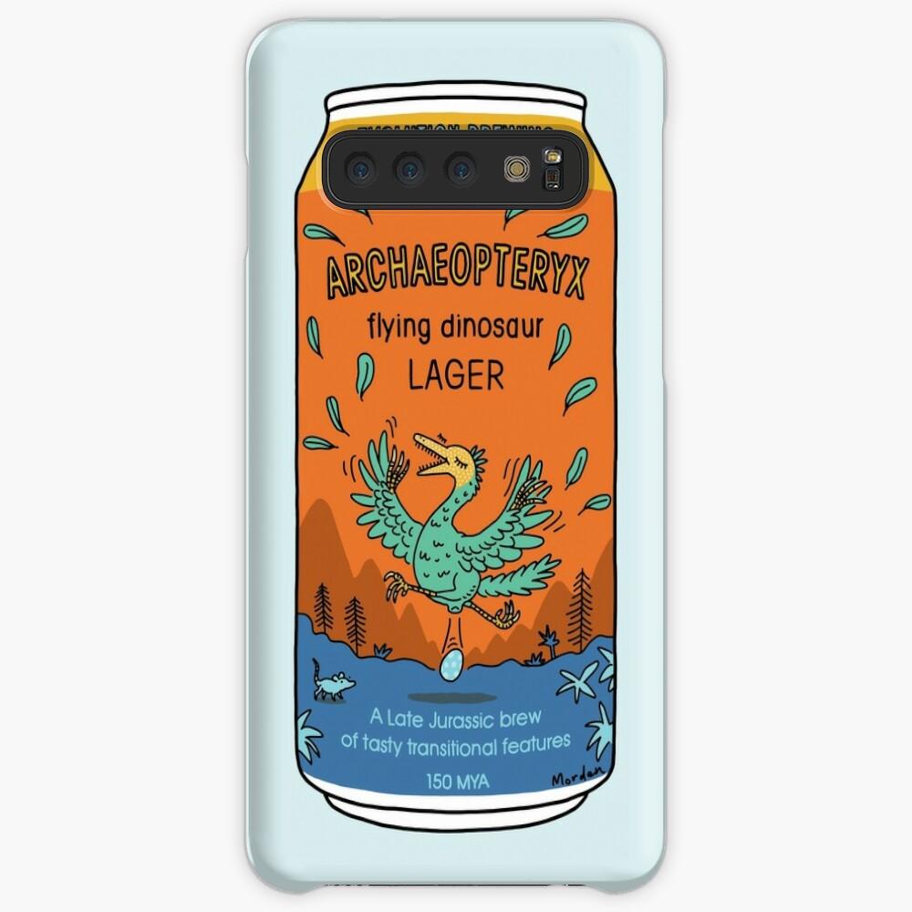Evolution Brewing Archaeopteryx Flying Dinosaur Lager Case & Skin for Samsung Galaxy