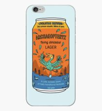 Evolution Brewing Archaeopteryx Flying Dinosaur Lager iPhone Case