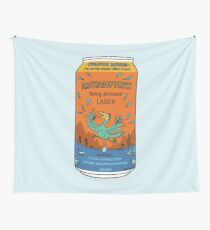 Evolution Brewing Archaeopteryx Flying Dinosaur Lager Wall Tapestry