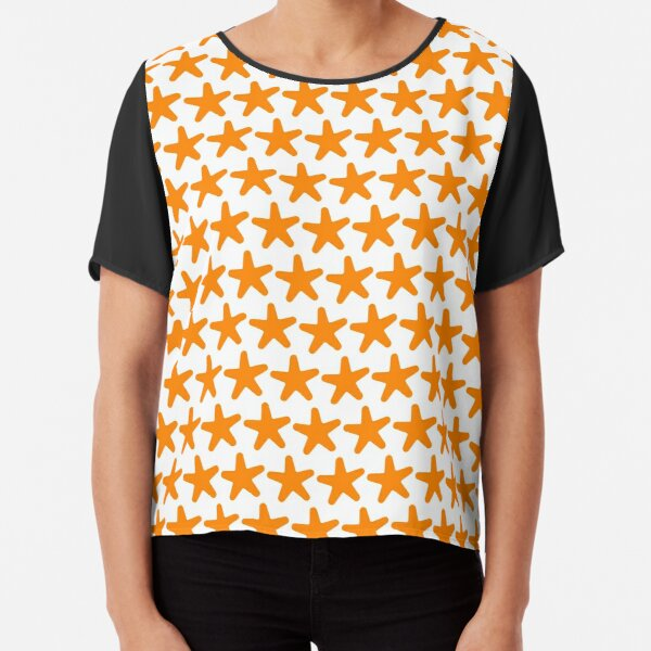 The Chocolate Starfish Chiffon Top