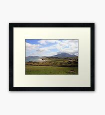 Connemara coastline Framed Print