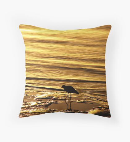 Lapwing Dream Throw Pillow