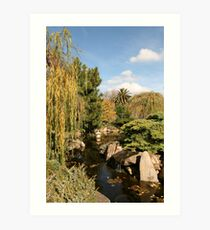 """June in Himeji Gardens"" Art Print"