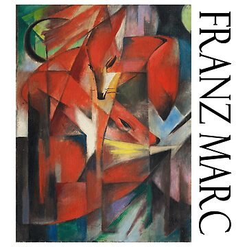 Franz Marc - Foxes by Chunga