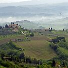 Tuscan Landscape III by Harry Oldmeadow