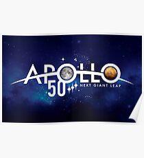 Space Apollo star planet Poster