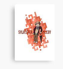 Doctor Seven Canvas Print