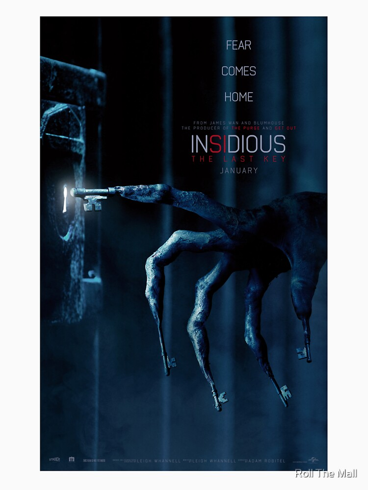 Insidious 4 - The last key movie poster | Fitted Scoop T-Shirt