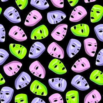 Masks I by InnaPoka