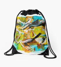 storks Drawstring Bag