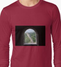The Great Wall Of China Long Sleeve T-Shirt