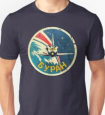 CCCP Space Shuttle Classic Emblem V01 Unisex T-Shirt