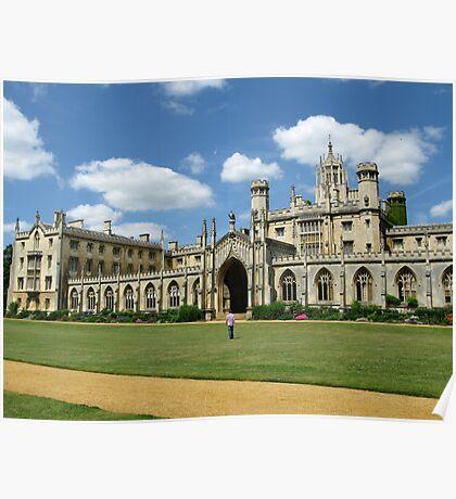 St John's College, Cambridge Poster