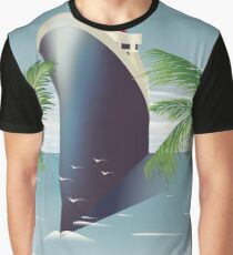 Barbados Cruise liner Graphic T-Shirt