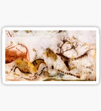 Lascaux Horse and Deer Sticker