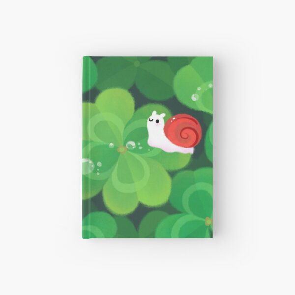 Happy lucky snail Hardcover Journal