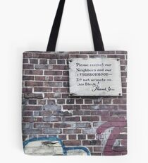 You're Welcome Tote Bag