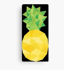 pineapple, triangle, fruit Canvas Print