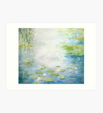 An Afternoon with Monsieur Monet Art Print