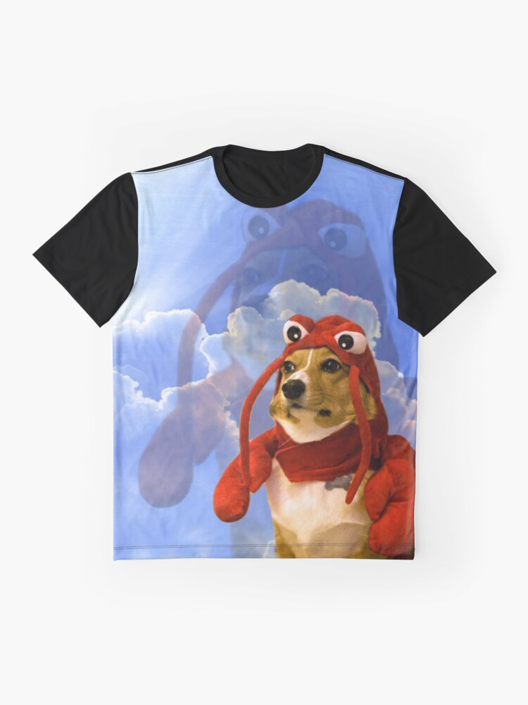 Vista alternativa de Camiseta gráfica Langosta Corgi, Doggo # 1