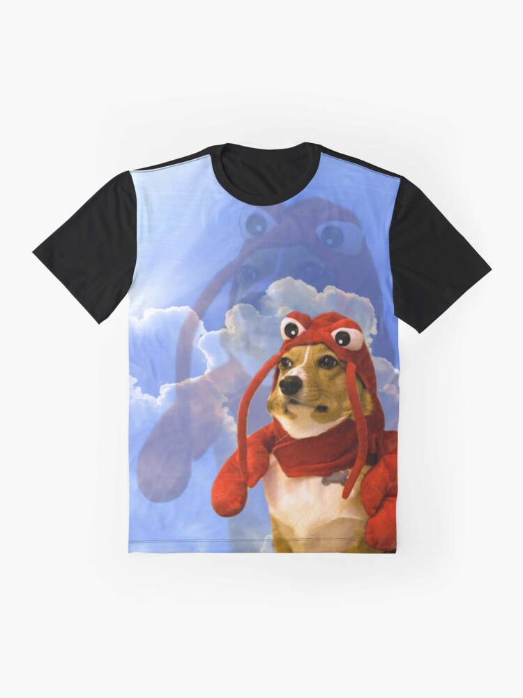 Alternate view of Lobster Corgi, Doggo #1 Graphic T-Shirt