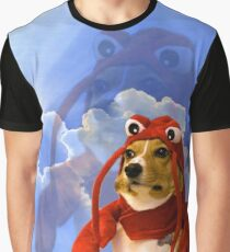 Camiseta gráfica Langosta Corgi, Doggo # 1