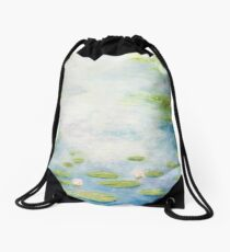 An Afternoon with Monsieur Monet Drawstring Bag