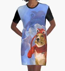 Lobster Corgi, Doggo #1 Graphic T-Shirt Dress