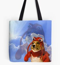 Lobster Corgi, Doggo #1 Tote Bag