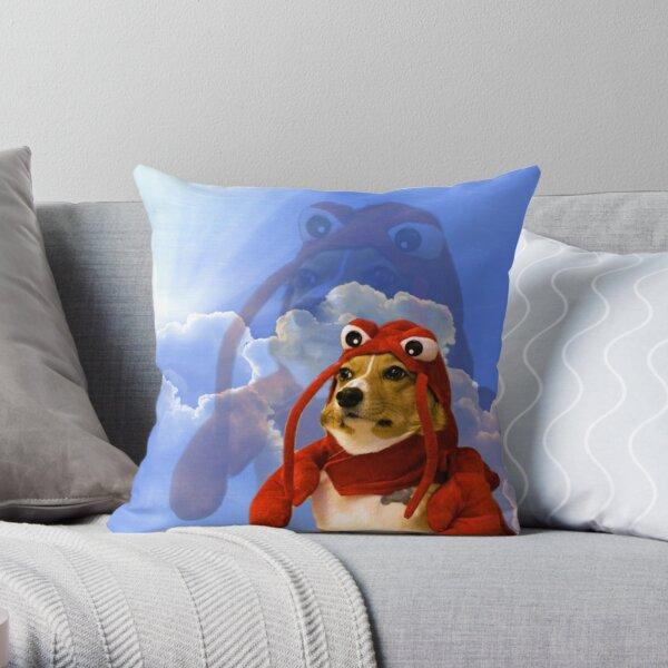 Lobster Corgi, Doggo #1 Throw Pillow