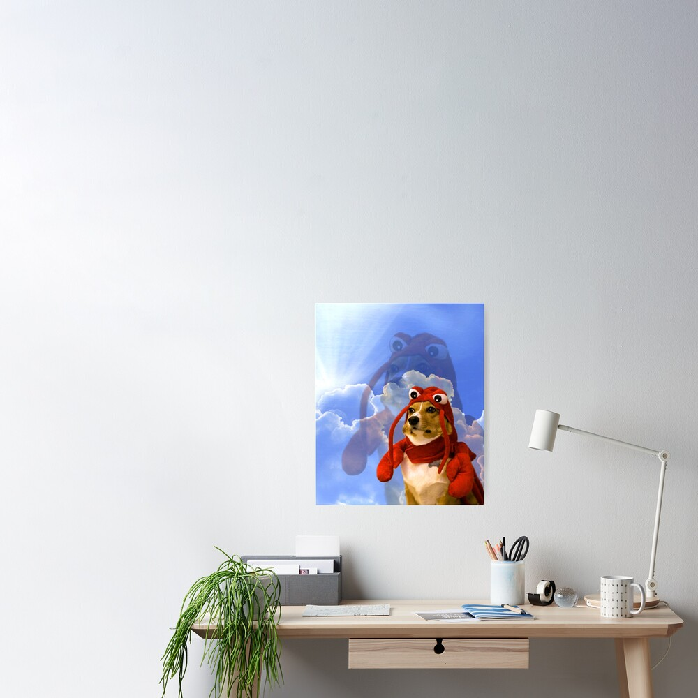 Lobster Corgi, Doggo #1 Poster