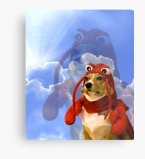 Lobster Corgi, Doggo #1 Metal Print