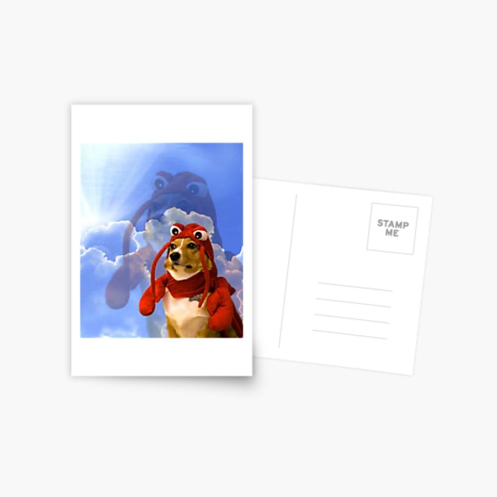 Lobster Corgi, Doggo #1 Postcard