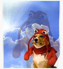 Lobster Corgi, Doggo #1 Poster