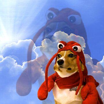 Lobster Corgi, Doggo #1 by Elisecv