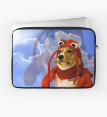Funda para portátil Langosta Corgi, Doggo # 1