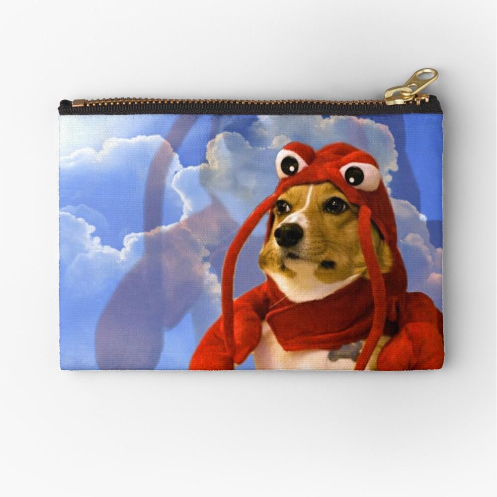 Lobster Corgi, Doggo #1 Zipper Pouch