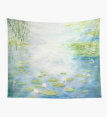 An Afternoon with Monsieur Monet Wall Tapestry