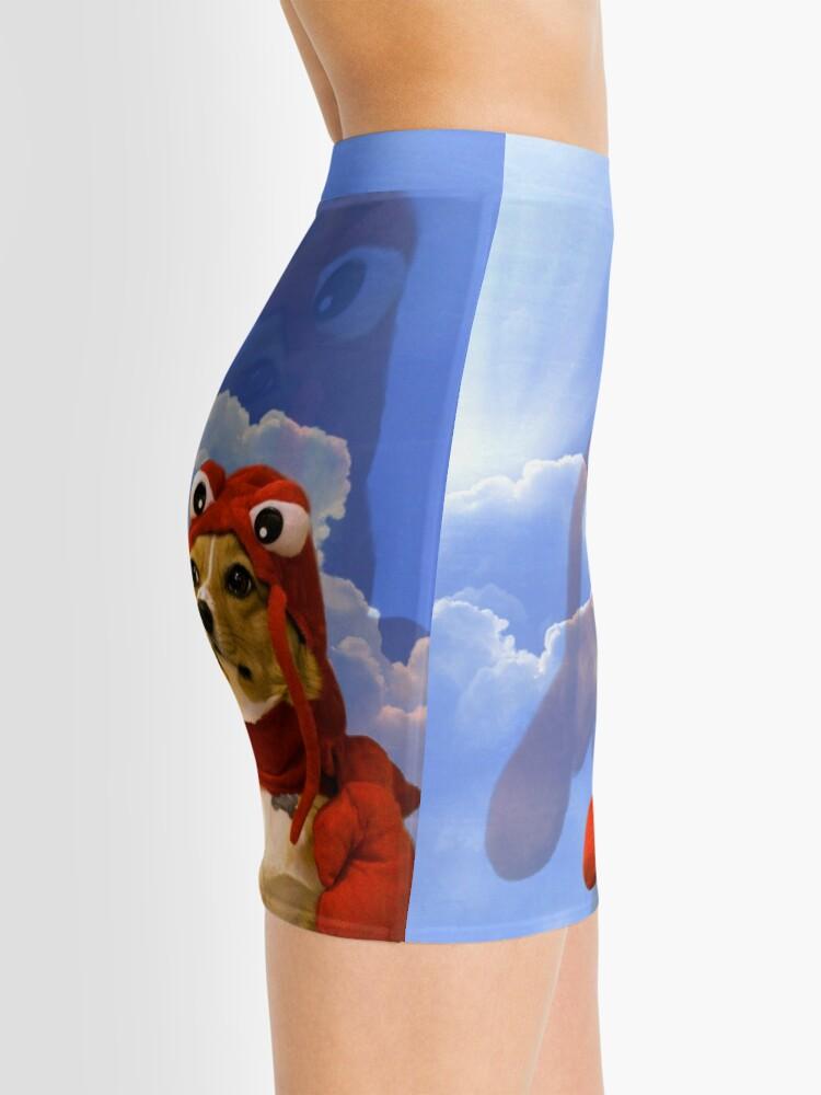 Alternate view of Lobster Corgi, Doggo #1 Mini Skirt