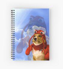 Cuaderno de espiral Langosta Corgi, Doggo # 1