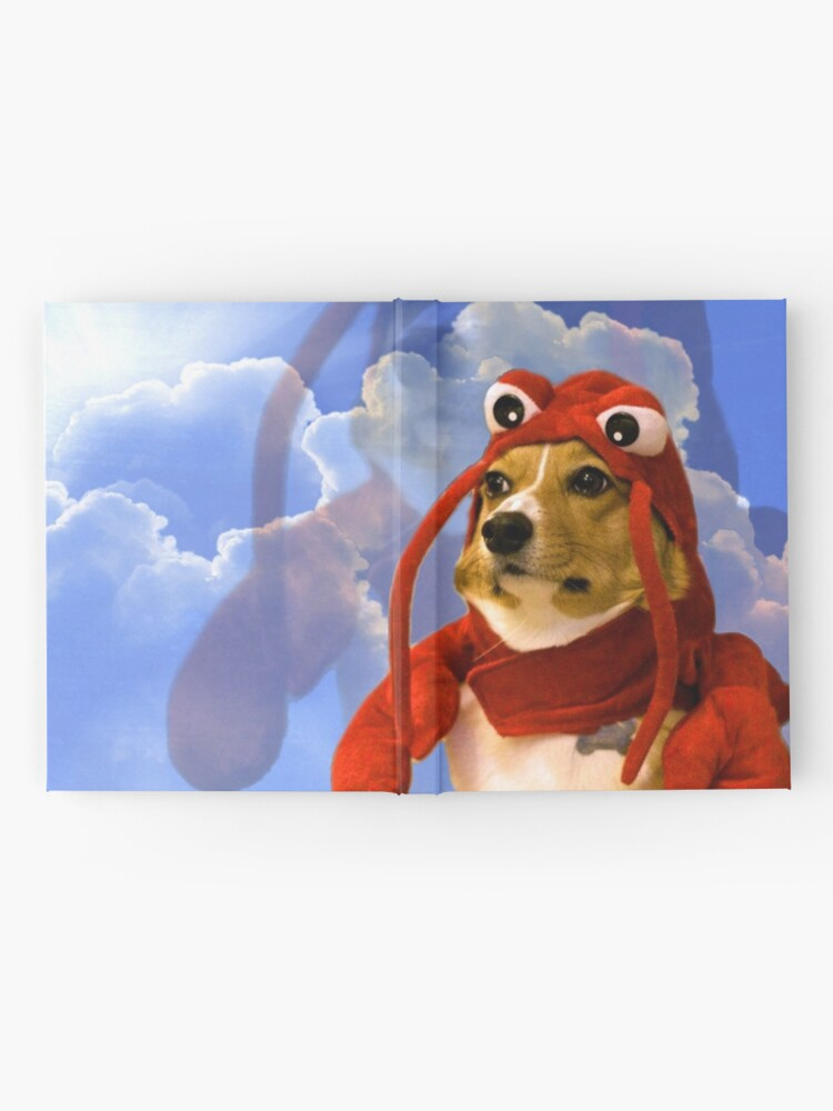 Alternate view of Lobster Corgi, Doggo #1 Hardcover Journal