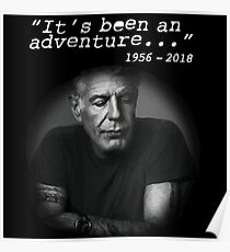 Anthony Bourdain Poster